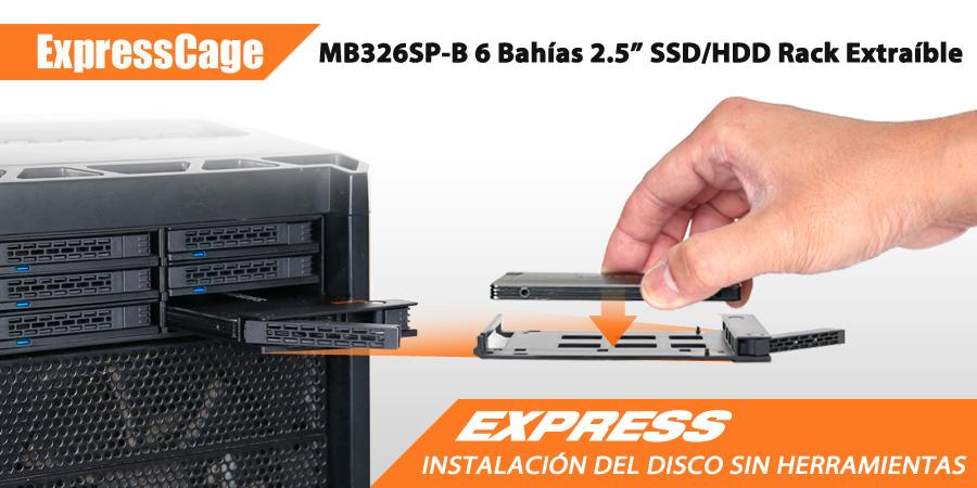 MB326SP-B Banner de presentación