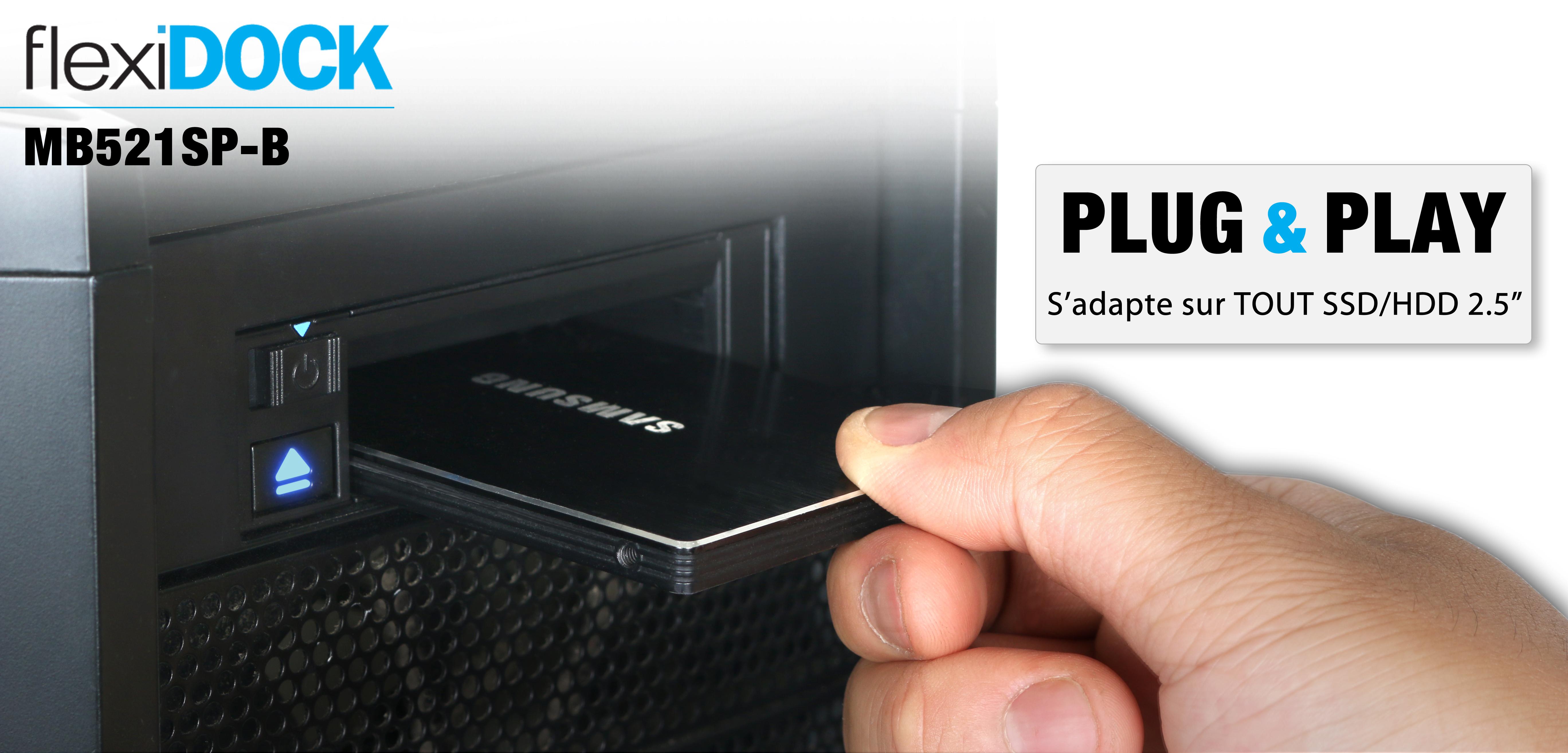 Bannière de présentation du FlexiDOCK MB521SP-B