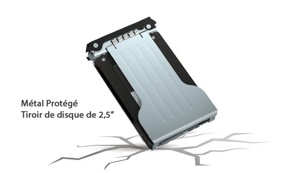 photo du tiroir de disque 2.5 pouces du mb699vp-b