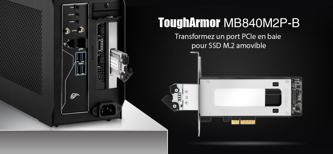 Bannière de présentation du MB843M2P-B