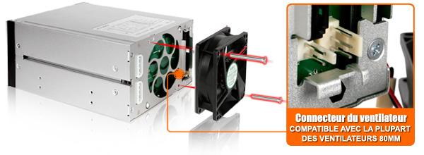 photo du connecteur de ventilateur du mb973sp-2b