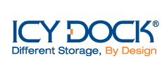 ICY DOCK Logo - Different Storage, By Design