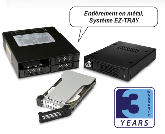 Full Metal Removable EZ-TRAY System